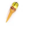 Λαμπάδα  Χωνάκι Παγωτό Φυστίκι-Μπανάνα-Σοκολάτα (Κ1123)
